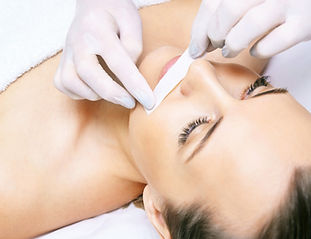 Hair removal. Cosmetic procedure. Beauty and health. Bright skin..jpg