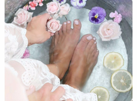 The Healing Benefits of Foot Baths