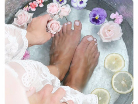 The Healing Benefits of Foot Baths