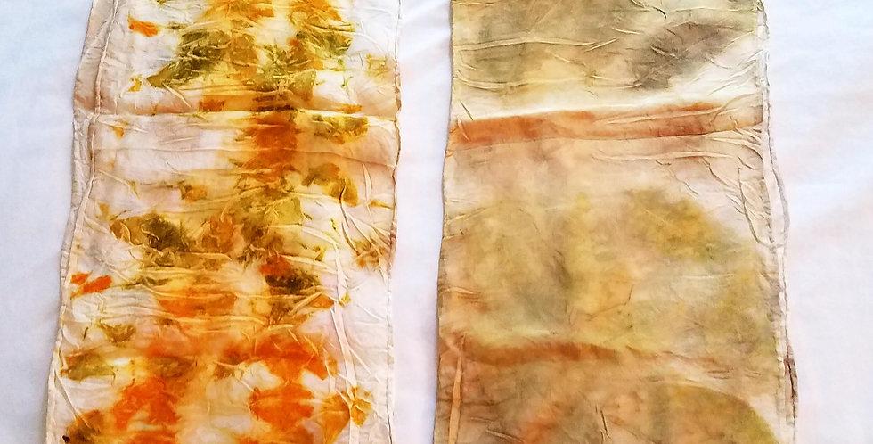 Habotai & Silk Scarve