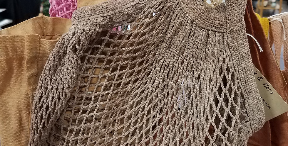 Organic String Market Bags