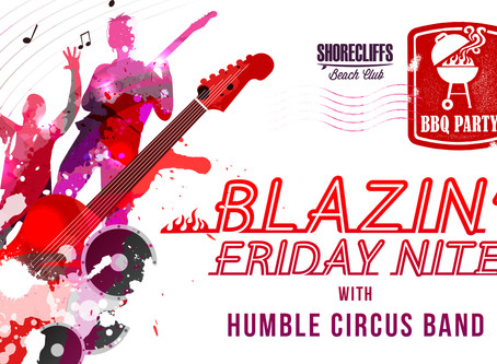 Blazin' Friday Nite Opening BBQ - This Friday 05/25/18 from 5pm-10pm