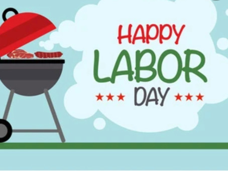 Hurray for Labor Day! We Need Volunteers for All Events.
