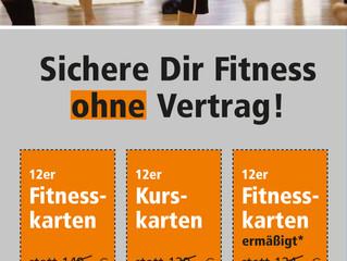 Sommerangebot - Fitness ohne Vertrag