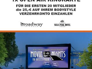 Freikarten für das Kino Open Air im Nells Park!