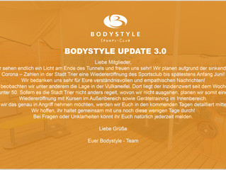 News zum Training aus dem Bodystyle