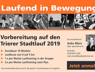 Vorbereitungskurs auf den Trierer Stadtlauf