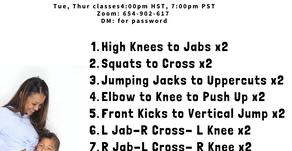 """Catch Up Babe"" 20 min Workout CUB Boxing"