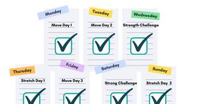 4 Week Kid's Workout