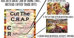 """The """"Anti Shame"""" Food Chart"""