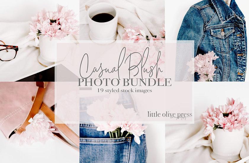 Casual Blush Photo Bundle