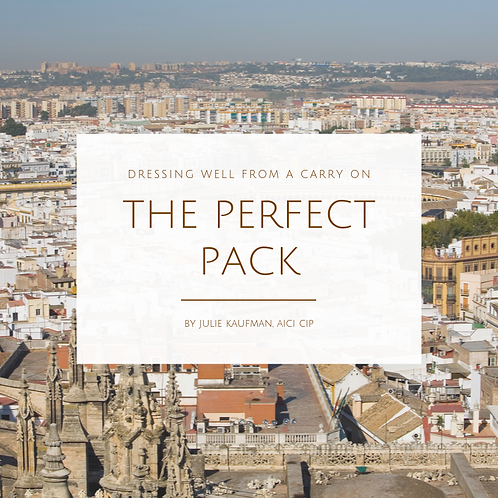 The Perfect Pack - Dressing Well From a Carry On