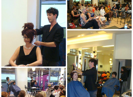 Exciting Hair Makeovers at Installation Event