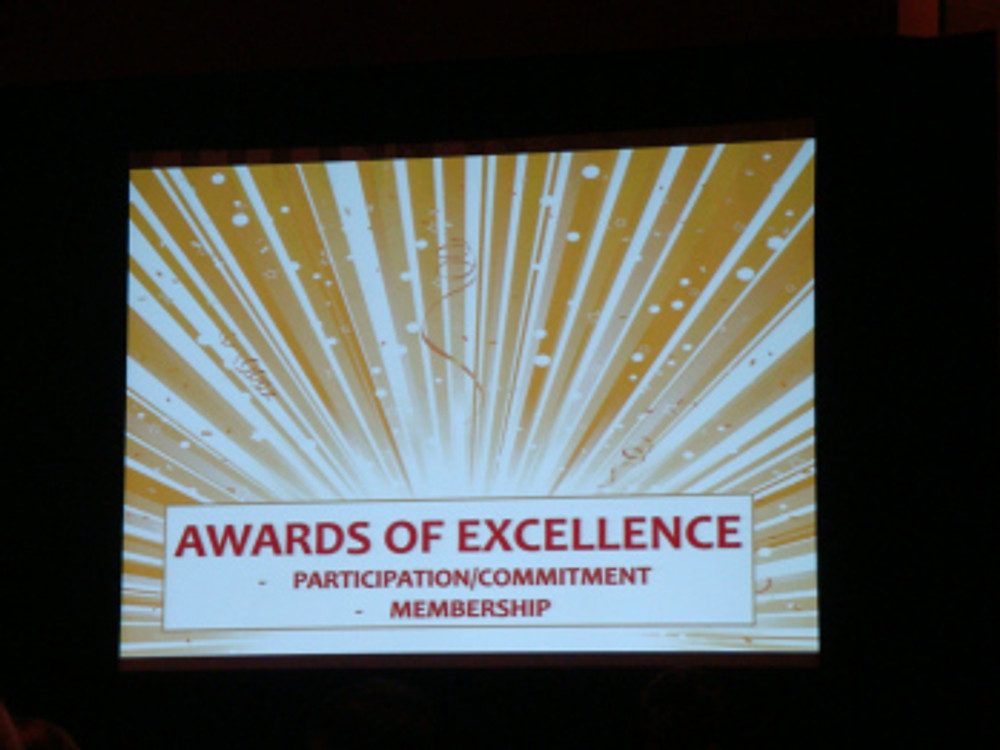 Award Excellence Participation Bernie 2013