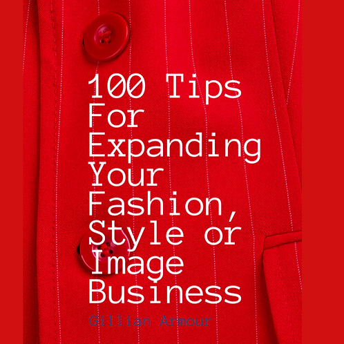 100 Tips for Expanding Your Fashion, Style or Image Business eBook