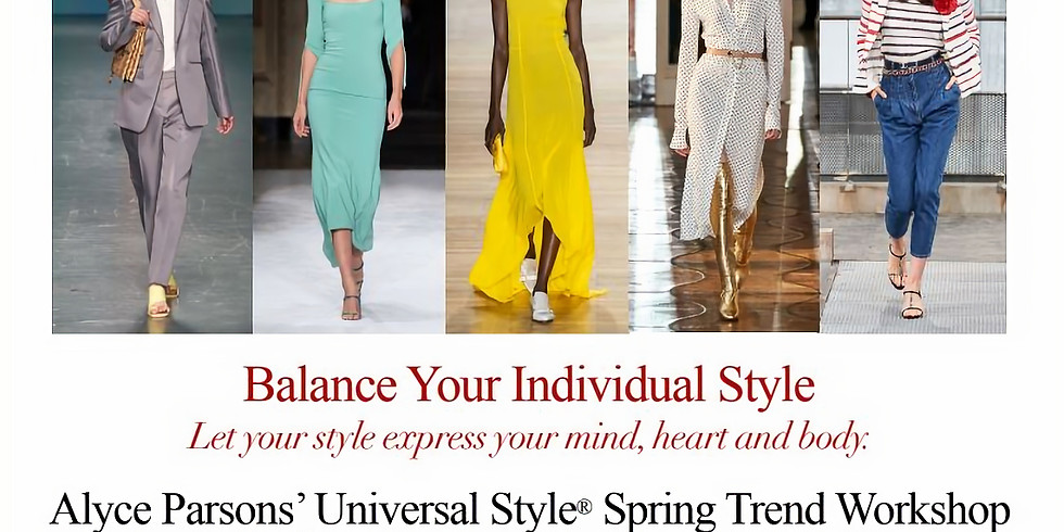 MEMBER POST - Balance Your Individual Style with Alyce Parsons