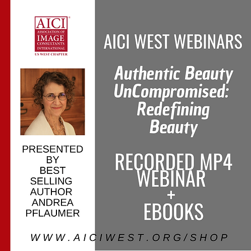 "Andrea Pflaumer Webinar ""Authentic Beauty Defined"" +PDFs"