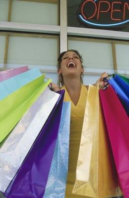 shopping woman 2