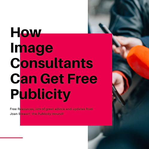 eBook How Image Consultants Can Get Free Publicity