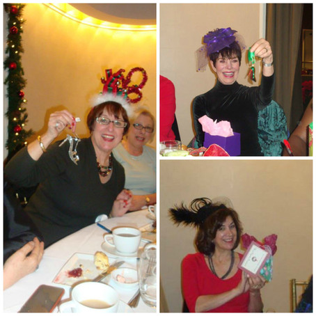 Chapter Holiday Tea Party at The Rotunda