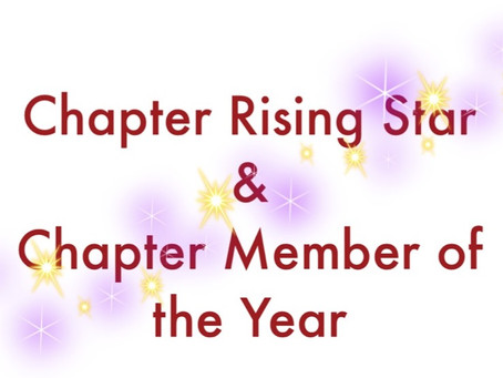 Chapter Awards for Commitment and Contribution