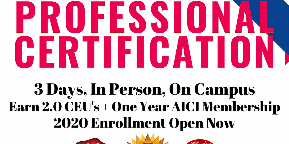 MEMBER POST - Image Stylist Certification and Business Start Up Course Campus Training with Gillian Armour, AICI CIP