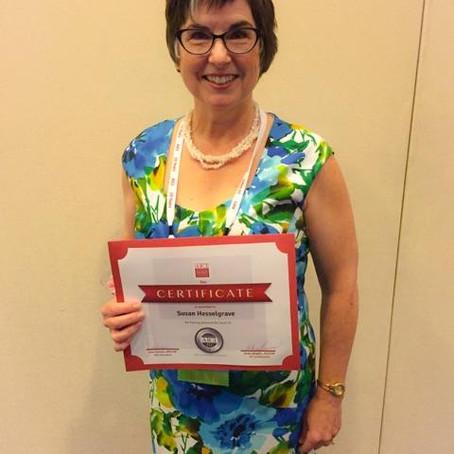 Congratulations to President's Award Winner – Susan Hesselgrave AICI FLC