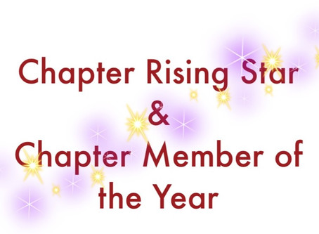 2015-2016 Rising Star & Chapter Member of the Year Awards