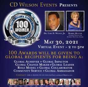 100 Women Global Award 2021