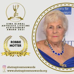 SIMA Global Advocate - Lifetime Achievement Award 2021
