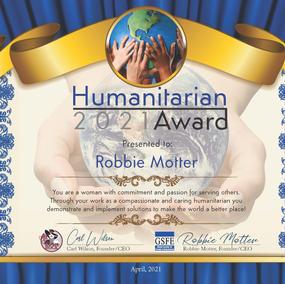 Humanitarian Award-2021