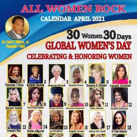 All Women Rock Calendar 2021