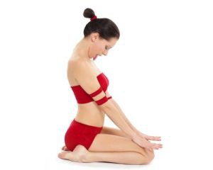 Face yoga posture