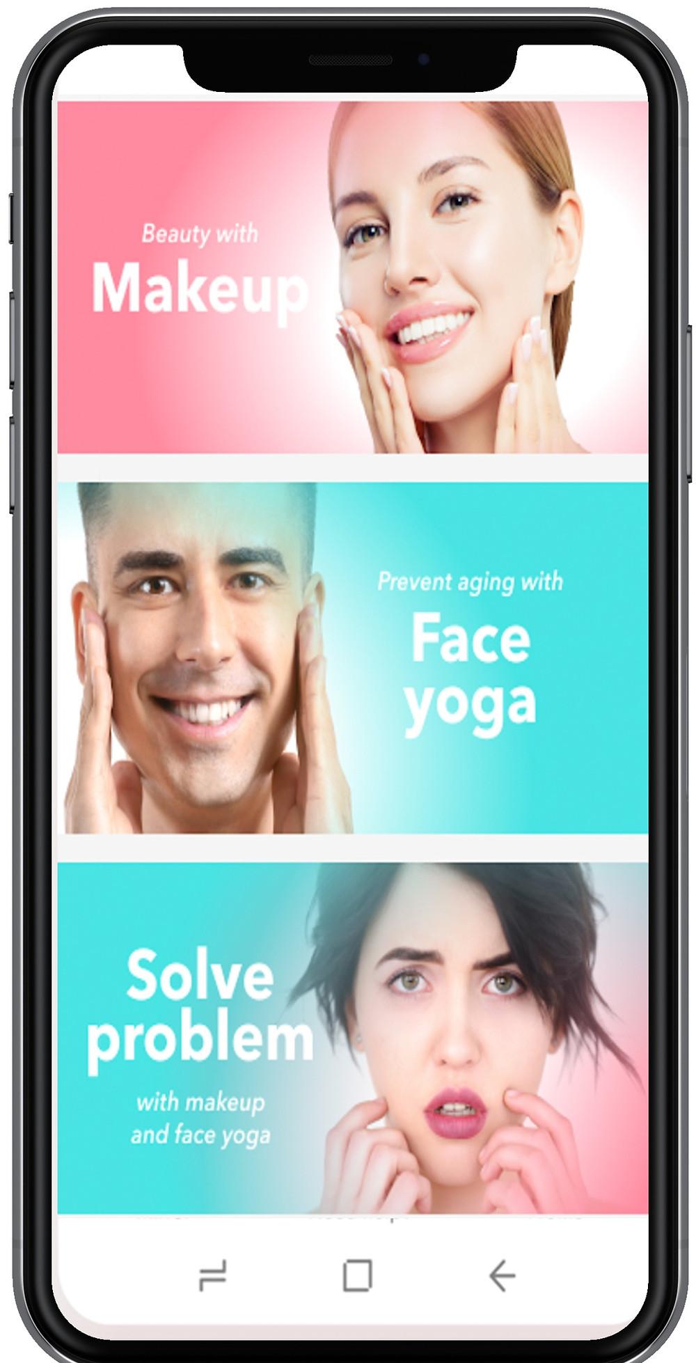 Forever Beauty mobile app