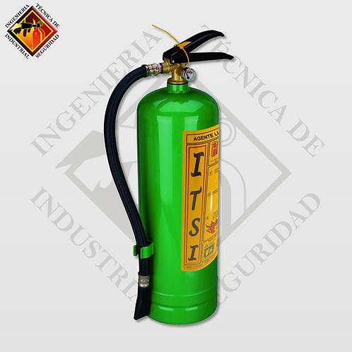 Extintor de Agente Limpio HFC-236 6 Kg