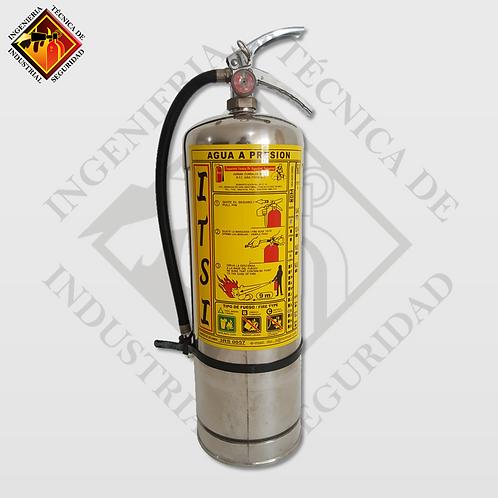 Extintor de H2O 9 L Inoxidable