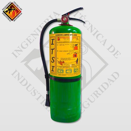 Extintor de Agente Limpio HFC-236 9 Kg