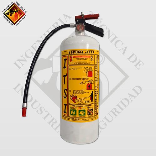 Extintor de Espuma AFFF 9 L