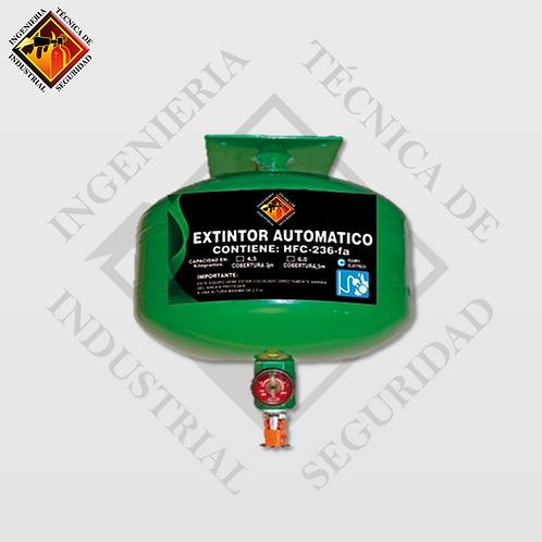 Granada de Agente Limpio HFC-236 4.5 Kg