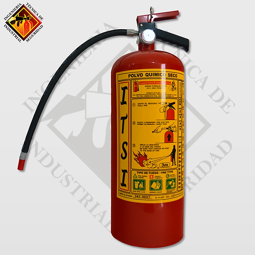 Extintor de PQS 9 Kg