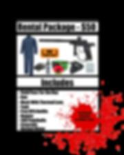 Rental Package 2019 Speedball Rental Pac