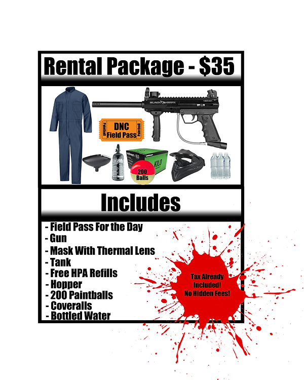 Rental Package 2019 Walk On Rental Packa