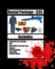 Rental Package 2019  Splat Master Rental