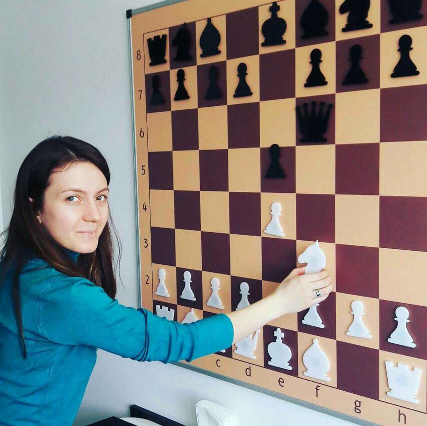 Розберемо шахову партію на демодошці