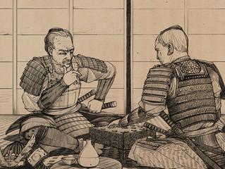 Сеги (японские шахматы) - интеллектуальная игра самураев