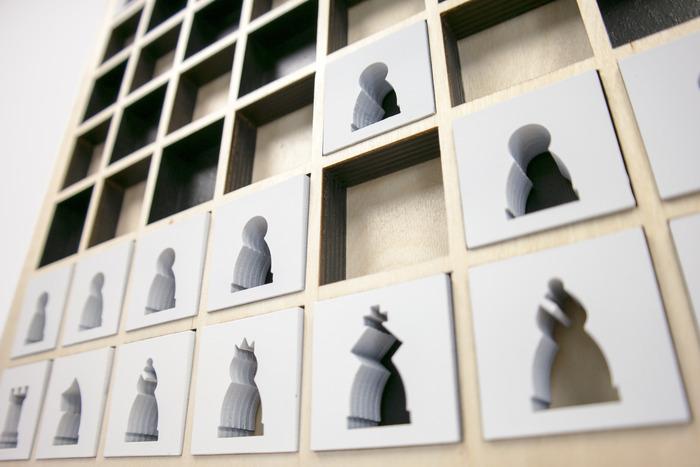 Стильна шахова дошка