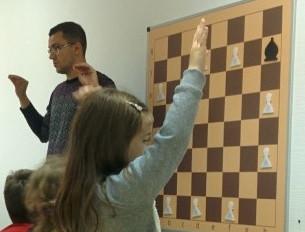 Демонстраційна шахова дошка - щоденний інструмент тренера