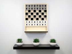 Оригінальна шахівниця або незвичайний декоративний гобелен?