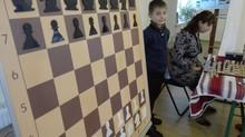 Майстерклас з шахів за демонстраційною настінною дошкою від chessboard.com.ua