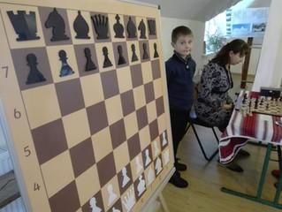 Мастеркласс по шахматам с демонстрационной настенной доской от chessboard.com.ua